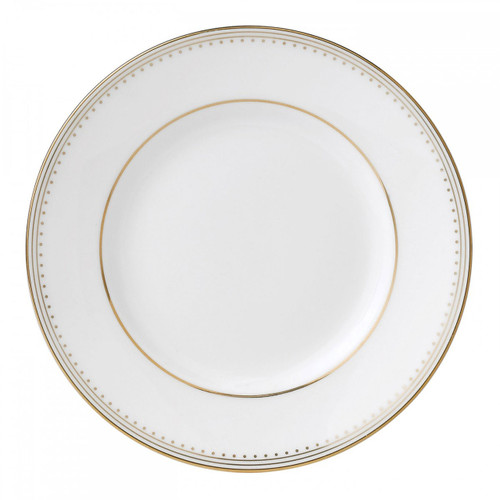 Vera Wang Golden Grosgrain Bread and Butter Plate 6 Inch