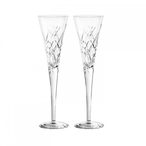 Vera Wang Duchesse Encore Toasting Flute Pair Clear