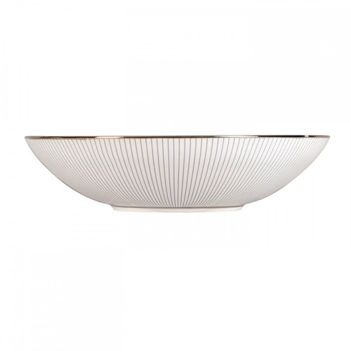 Wedgwood Jasper Conran Blue Pin Stripe Soup Plate 9 Inch