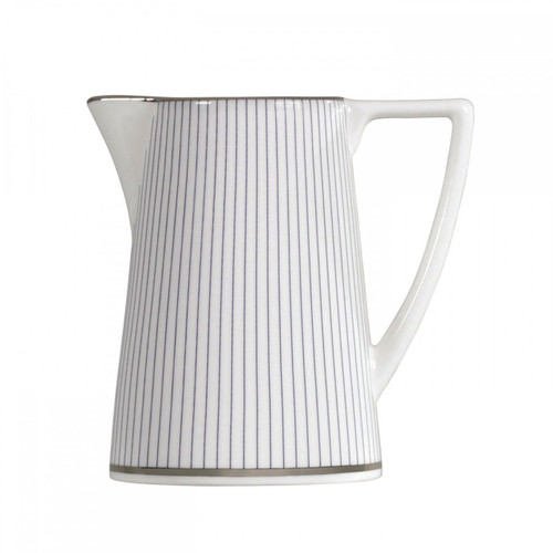 Wedgwood Jasper Conran Blue Pin Stripe Cream Jug 0.20 Ltr