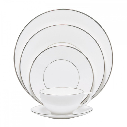 Wedgwood Jasper Conran Platinum Five 5 Piece Place Setting (Lined Only)