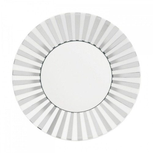 Wedgwood Jasper Conran Platinum Accent Salad Plate 9 Inch Striped