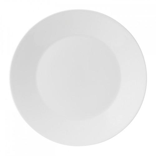 Wedgwood Jasper Conran White Bone China Dinner Plate Plain 11 Inch