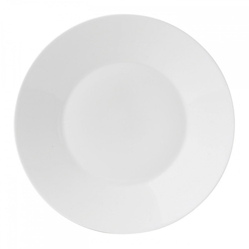 Wedgwood Jasper Conran White Bone China Salad Plate Plain 9 Inch