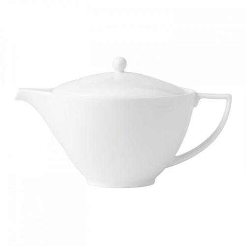 Wedgwood Jasper Conran White Bone China Teapot 1.7 Pt
