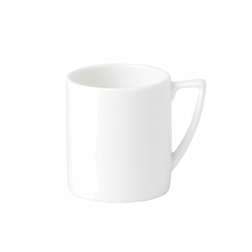 Wedgwood Jasper Conran White Bone China Espresso Cup Plain