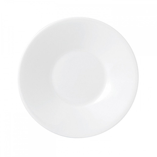 Wedgwood Jasper Conran White Bone China Espresso Saucer Plain