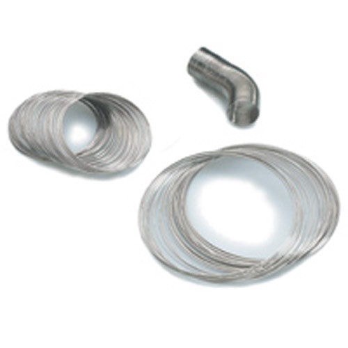 0.75 - 0.84 Inch Diameter Ring Memory Wire Bright Stainless Steel CRD601