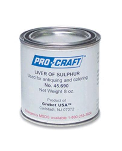 Pro-Craft 8 Oz Liver Of Sulphur JT3325