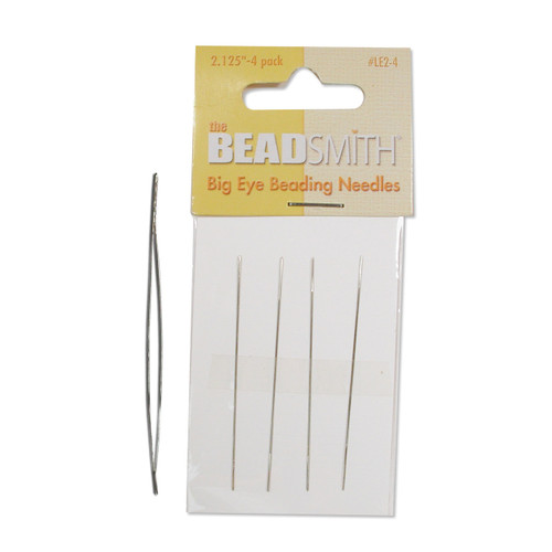 Big Eye 2.12In Pack Of 4 Beading Needles JT4810
