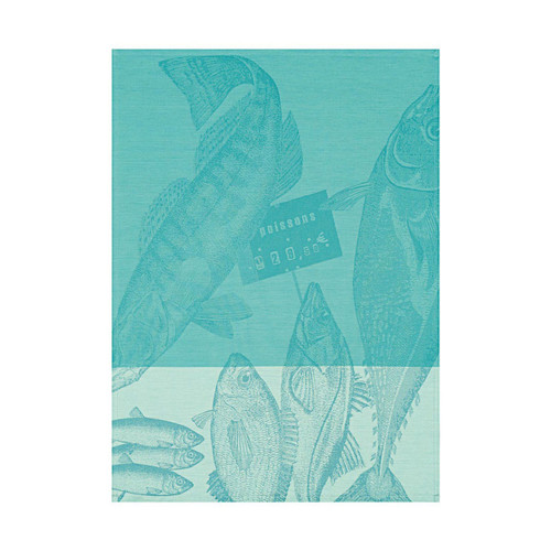 Le Jacquard Francais Marche Aux Poissons Ice Tea Towel 24 x 31 Set of 4
