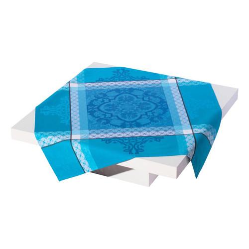 Le Jacquard Francais Azulejos Blue China Tablecloth 86 x 86