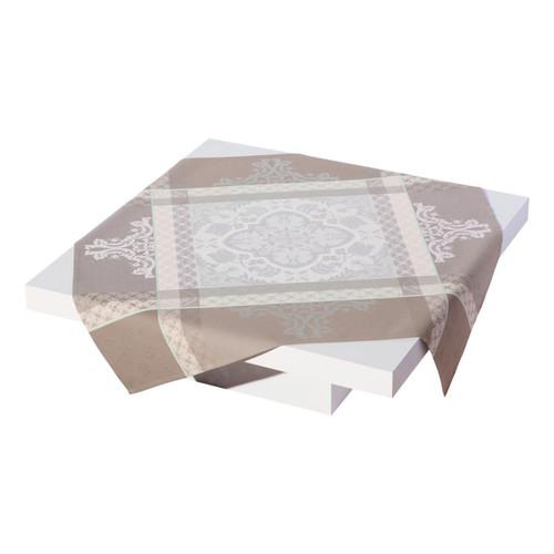 Le Jacquard Francais Azulejos Grey Tablecloth 86 x 149