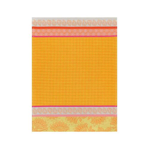 Le Jacquard Francais Pays De Provence Lemon Hand Towel 21 x 15