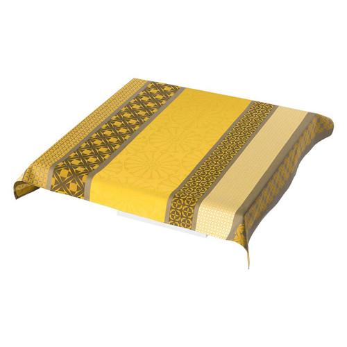 Le Jacquard Francais Bilbao Enduit Acacia Tablecloth 55 x 89