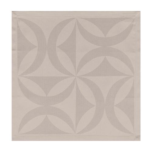 Le Jacquard Francais Ellipse Sea Salt Napkin 19 x 19 Set of 4