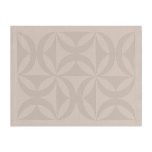 Le Jacquard Francais Ellipse Sea Salt Placemat 18 x 91 Set of 4