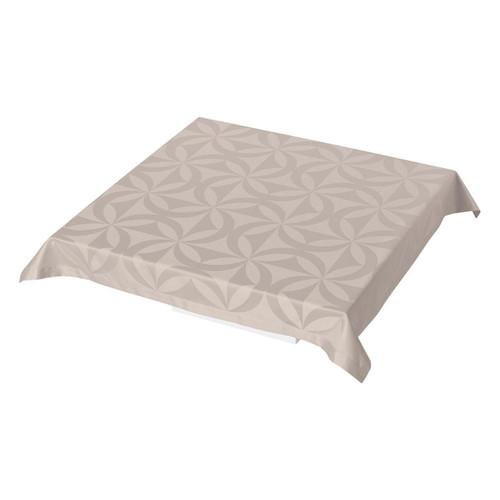 Le Jacquard Francais Ellipse Enduite Sea Salt Tablecloth 55 x 55