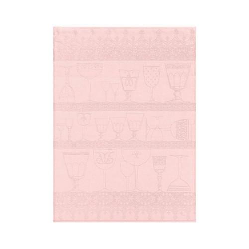 Le Jacquard Francais Cristal Light Pink Crystal Towel 24 x 31