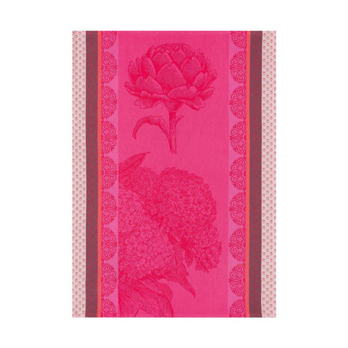 Le Jacquard Francais Tea Towel Terre De Bretagne Pink 24 x 31 Pure Cotton Set of 4