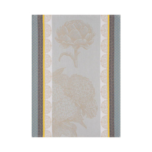 Le Jacquard Francais Tea Towel Terre De Bretagne Granite 24 x 31 Pure Cotton Set of 4