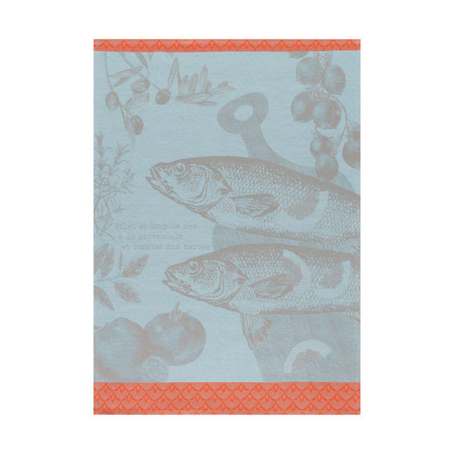 Le Jacquard Francais Tea Towel Bar A La Provencale Salt 24 x 31 Pure Cotton Set of 4