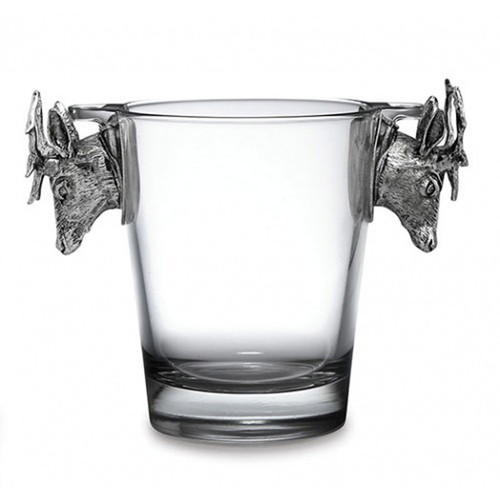 Animale Glass Ice Bucket by Arte Italica Pewter