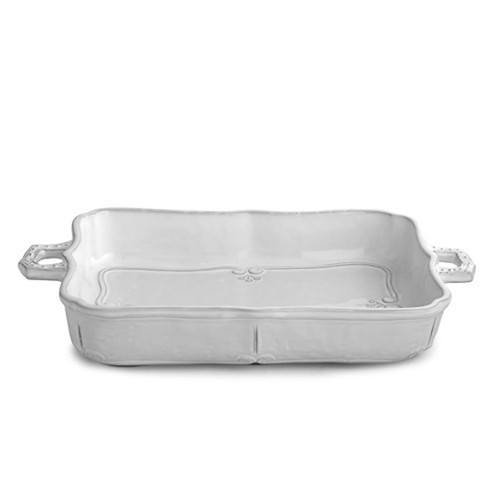 Bella Bianca Baking Dish by Arte Italica Pewter
