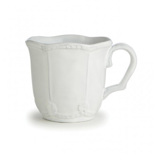 Bella Bianca Beaded Mug by Arte Italica Pewter