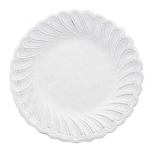 Arte Italica Bella Bianca Pique Salad Dessert Plate BBS1008