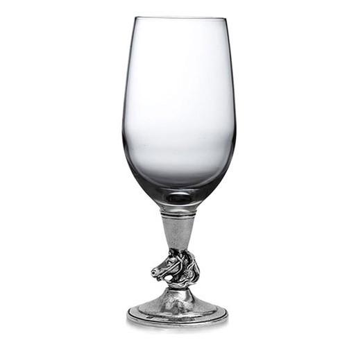 Arte Italica Cavallo Water Wine Glass CAV2035