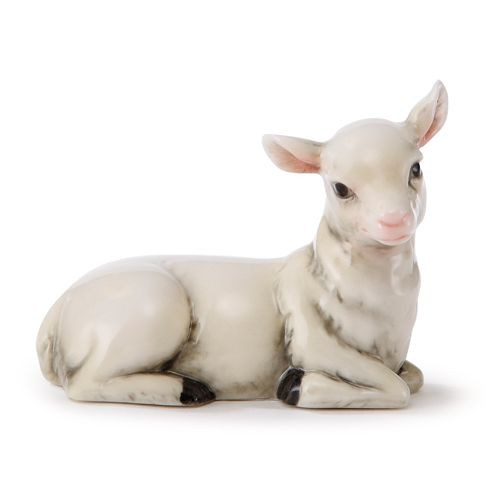 Franz Porcelain Holy Night Nativity Figurine Lamb FZ01881