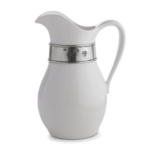 Tuscan Tall Pitcher by Arte Italica Pewter