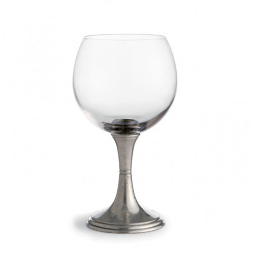Verona Red Wine Glass by Arte Italica Pewter