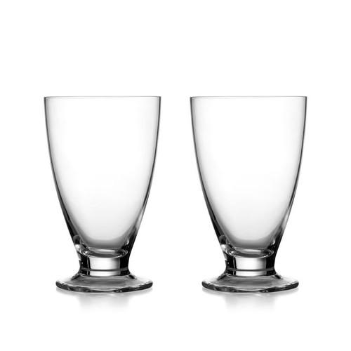 Nambe Skye Tumbler Tall Set of 2 each Glass
