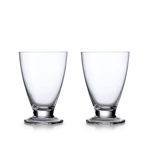 Nambe Skye Tumbler Short Set of 2 each Glass