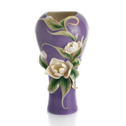 Franz Porcelain Southern Charm Magnolia Vase FZ01542