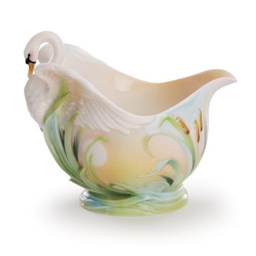 Franz Porcelain Swan Lake Creamer FZ02016