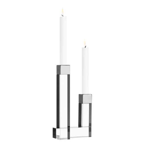 Orrefors Chimney Candleholder 2 Arm