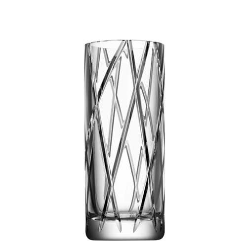 Orrefors Explicit Vase Stripes Small