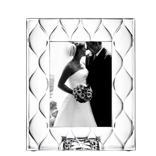 Orrefors Frames Diamond Picture Frame 5 X 7 Inch