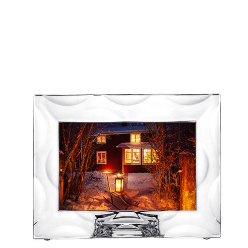Orrefors Frames Wave Picture Frame 4 X 6 Inch