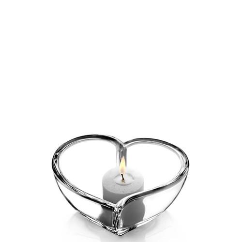 Orrefors Heart Bowl/Votive Small