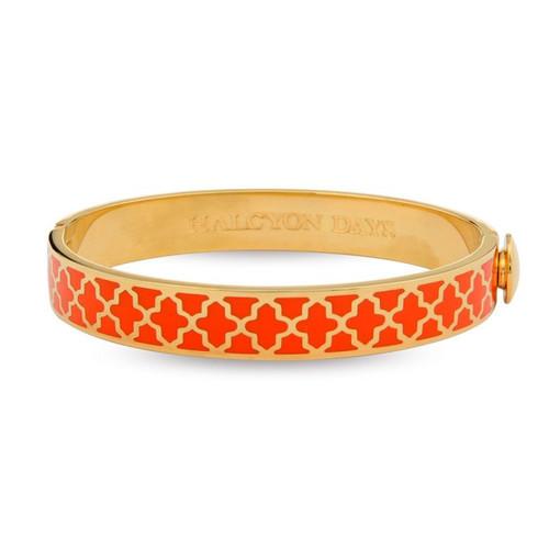Halcyon Days D.H Bangle Agama Orange Gold