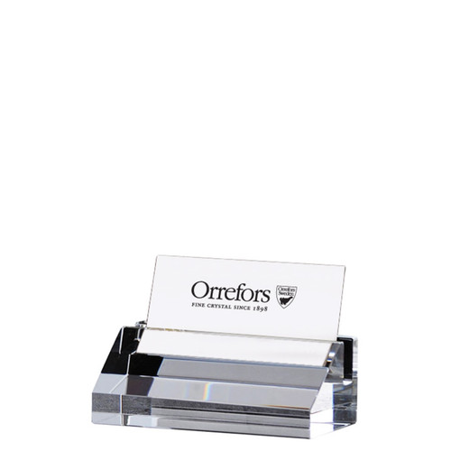 Orrefors Wall Street Business Card Holder