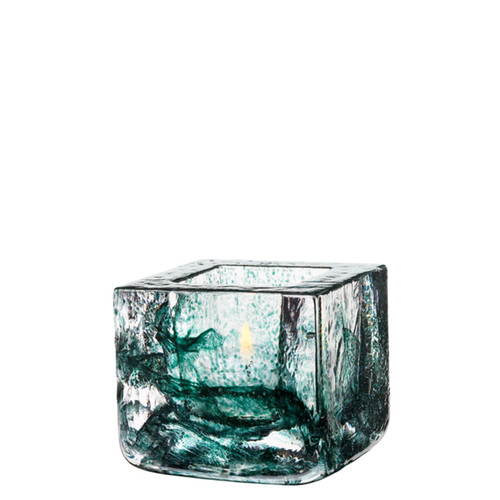 Kosta Boda Brick Votive Green MPN: 7061033 Designed by Anna Ehrner