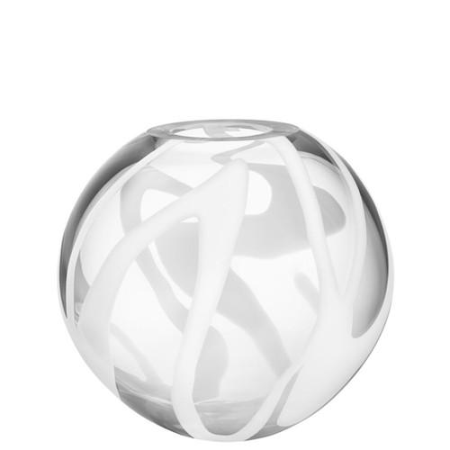 Kosta Boda Globe Vase White
