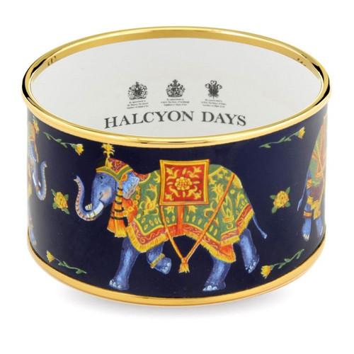 Halcyon Days Elephant Bangle Small