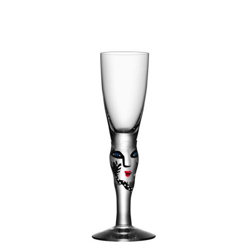 Kosta Boda Open Minds Shot Glass Clear MPN: 7091320 Designed by Ulrica Hydman-Vallien