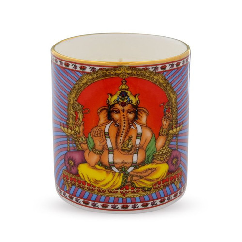 Halcyon Days Ganesh Filled Candle